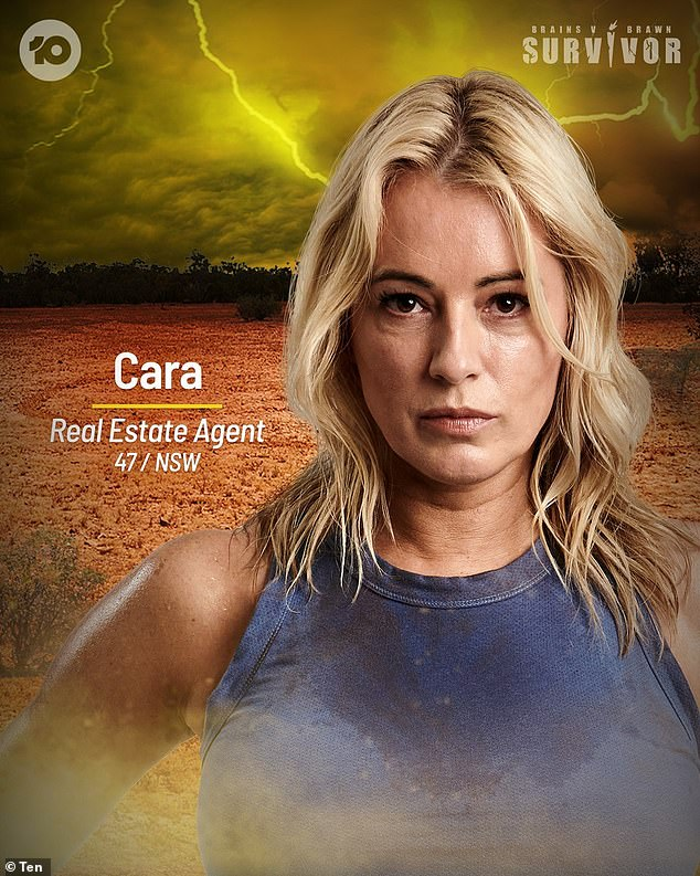 Weakness: Hinting at the upcoming episode, she revealed to the publication that she enjoyed her time with the Brawn tribe. Cara also noted the Brain tribe's biggest flaw, saying: 'I think Brains are… too in their head'