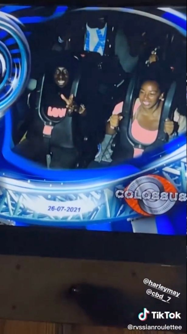 Stormzy's guests had free reign of the rollercoasters at Thorpe Park