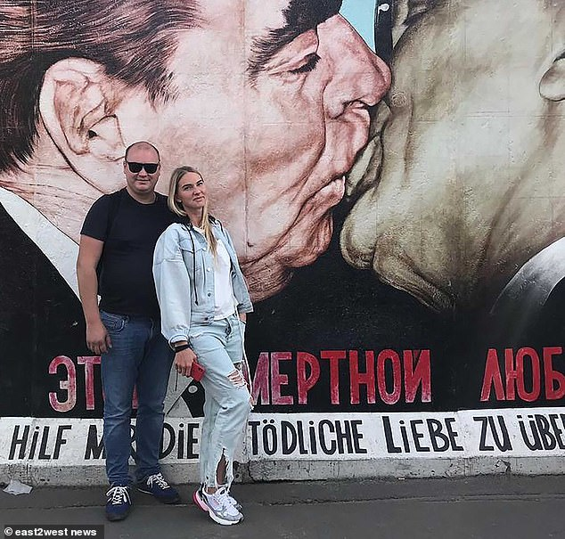The case was made public when it was highlighted by social media influencer Olga Chocolate, with one million-plus followers, a friend and client of the attacked woman (pictured right, with husband)
