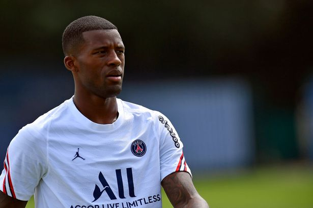 PSG signed midfielder Gini Wijnaldum after his contract expired at Liverpool - and could look to do the same with Pogba