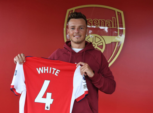 Ben White completed his move to Arsenal on Friday