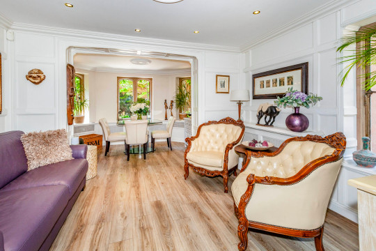 Despite being refurbished, traditional features remain such as high ceilings. MAIDENHEAD, UNITED KINGDOM: THIS STUNNING property is situated within an exquisite Edwardian mansion which was once the production house and film set for the iconic British television series Thunderbirds - and it could be yours for ?700,000. This historic property, located in Maidenhead, UK, was once home to Gerry Anderson - a television and film producer who created the iconic British television series, Thunderbirds. Anderson created the 1960s puppet series with his wife and filmed the first season of the programme in the mansion where the apartment is located. In 1957, Gerry Anderson and Arthur Provis founded the company AP Films which was the production company for not only Thunderbirds, but also for iconic British television shows The Adventures of Twizzle and Captain Scarlet. Islet Park House was the home of this production company and of Gerry Anderson?s family for over 40 years. The stunning apartment comprises two bedrooms, one bathroom, two reception rooms, study room and a bespoke kitchen which opens up into the spacious dining room. The 1,327 sq. ft. property spans across one floor and features an outdoor area with a covered patio and its very own private garage - which is perfect for those who are looking to recreate the Thunderbirds magic right from their own home. The standout feature, however, are the grounds in which the apartment is situated. Islet Park House was built in the early 1900s and comprises many original features from the Edwardian era, such as high ceilings and brickwork. At the front of the property are the beautifully maintained communal gardens, which offer riverside mooring upon the notable River Thames. This magnificent property - which is within a stone?s throw of Maidenhead town centre and offers close links to London Paddington train station - is on the market with Purplebricks for ?700,000. mediadrumworld.com/Purplebricks