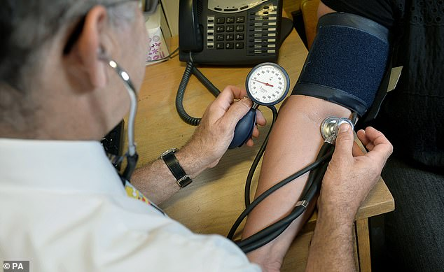 A study from healthcare provider Benenden Health found that as many as 31 per cent of Britons had not sought medical support for a health issue or had delayed doing so as a result of the pandemic (file photo)