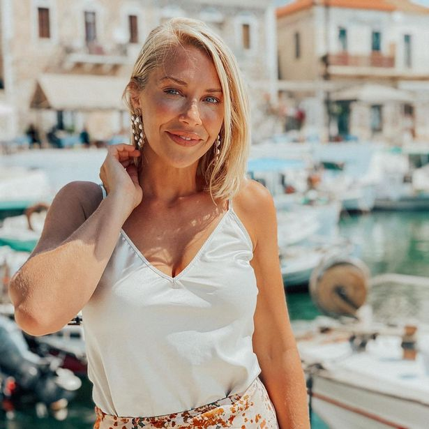 A Place in The Sun's Laura Hamilton says she swelters in the sun while filming for the show as the air-con gets turned off