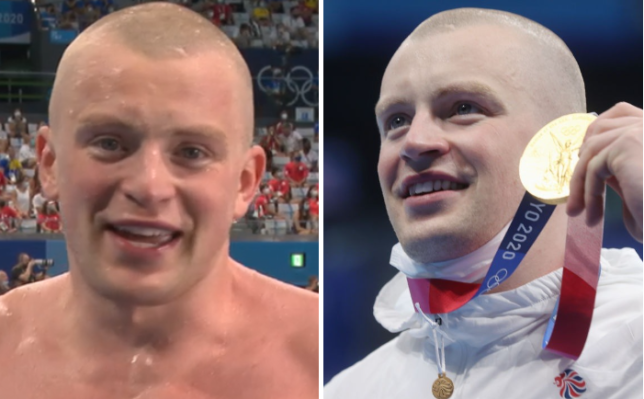 Adam Peaty claimed Team GB's first gold medal of the Tokyo Olympics following his victory in the final of the men's 100m breaststroke