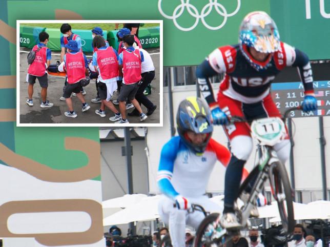 US BMX rider Connor Fields suffered a brain haemorrhage during a horror crash