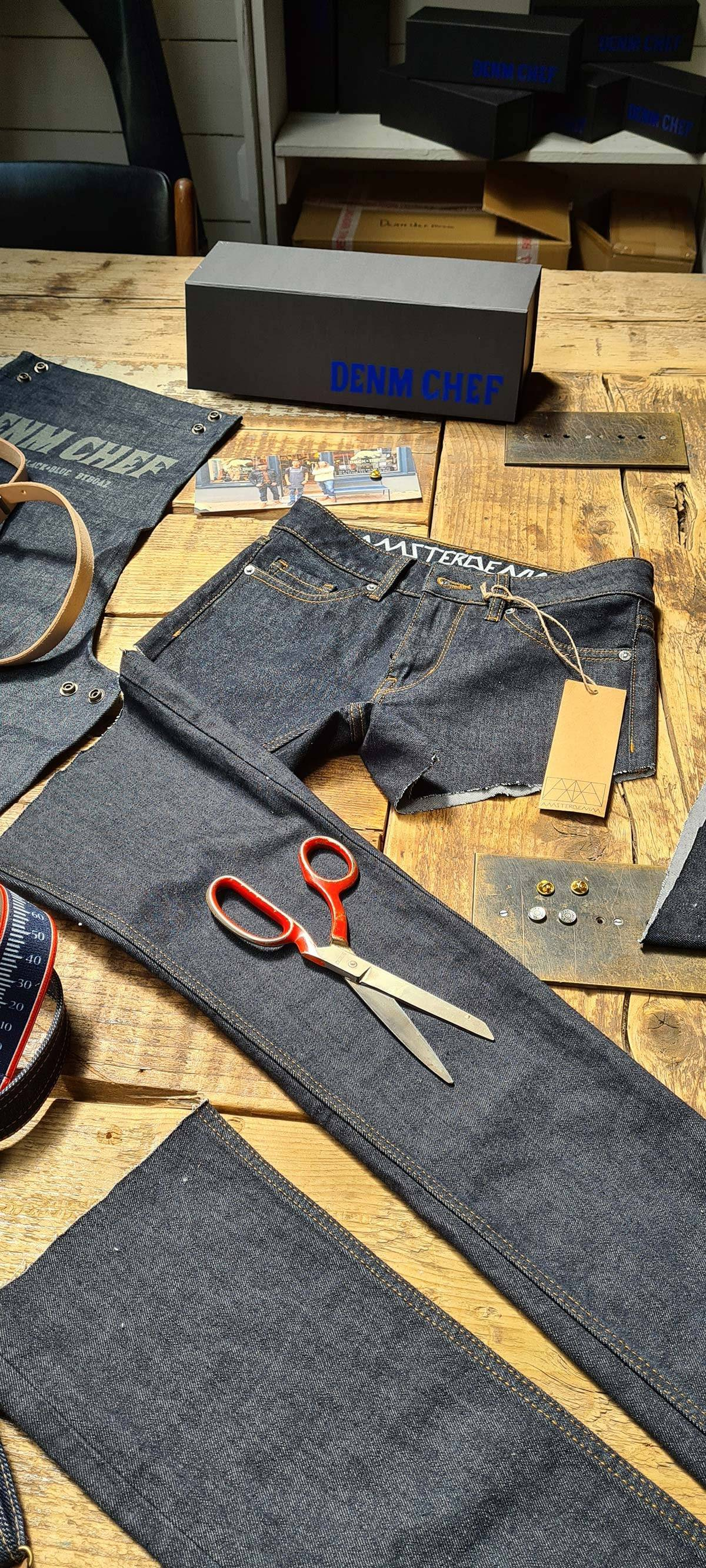 Amsterdenim SJAAN hotpants: A zero waste upcycling project