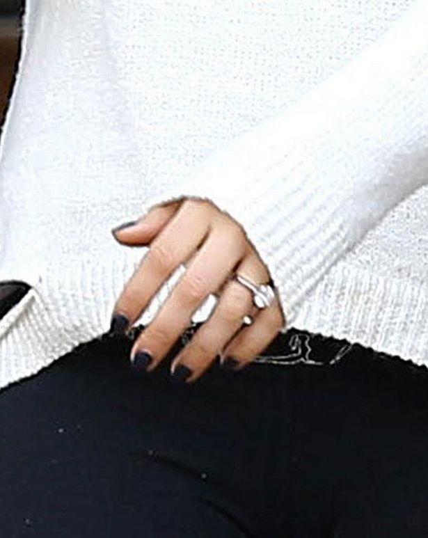 Mila's engagement ring