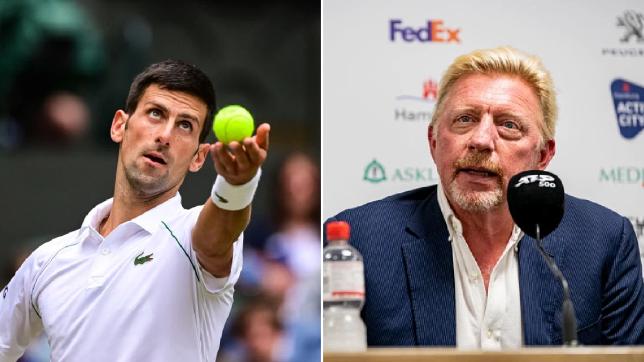Boris Becker has warned Novak Djokovic now to underestimate his Wimbledon rivals