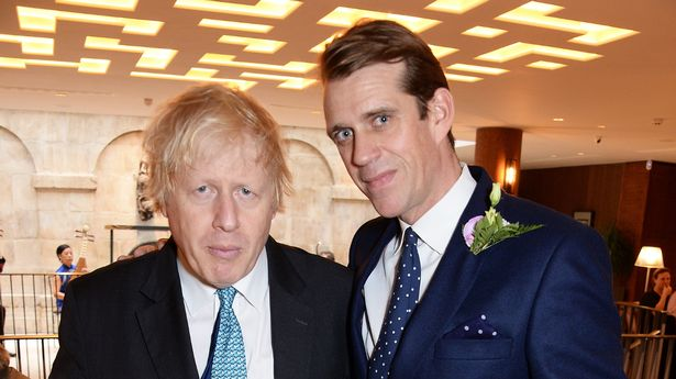 Boris Johnson and Tory money man Ben Elliot