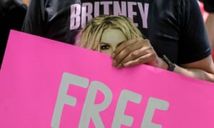 Britney Spears Trial, Los Angeles, California, USA - 23 Jun 2021<br>Mandatory Credit: Photo by Ringo Chiu/ZUMA Wire/REX/Shutterstock (12166958e) Fans and supporters of Britney Spears gather outside the County Courthouse in Los Angeles, Wednesday, June 23, 2021, during a scheduled hearing in Britney Spears' conservatorship case. Pop singer Britney Spears urged a US judge on June 23, to end a controversial guardianship that has given her father control over her affairs since 2008. ''I just want my life back. It's been 13 years and it's enough,'' she told a court hearing in Los Angeles during an emotional 20-minute address via videolink. Britney Spears Trial, Los Angeles, California, USA - 23 Jun 2021