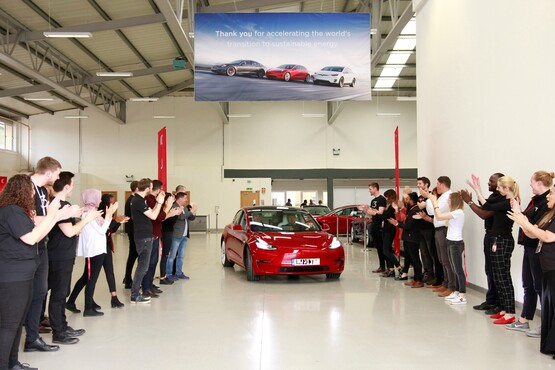Tesla's Model 3 EV was June's best-selling new car in the UK