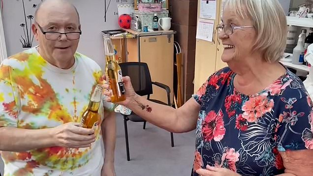 Carehome 'inking and drinking' event to raise spirits