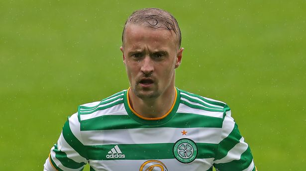 Celtic striker Leigh Griffiths, who last week signed a new deal at Parkhead