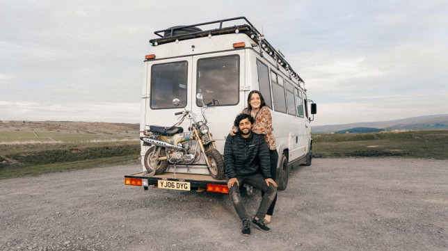 Charlie and Josh dreamed of traveling in a camper since they first met
