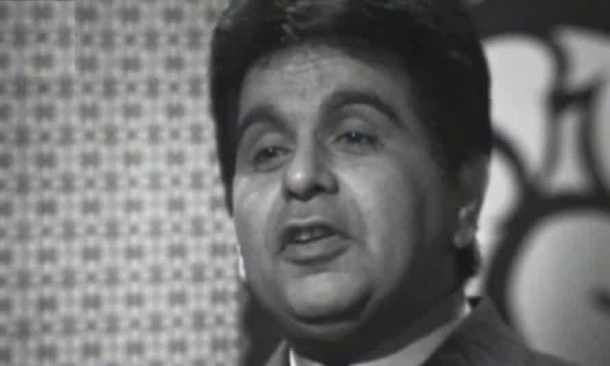 Dilip Kumar in the TV show Nai Zindagi: Naya Jeevan in 1968