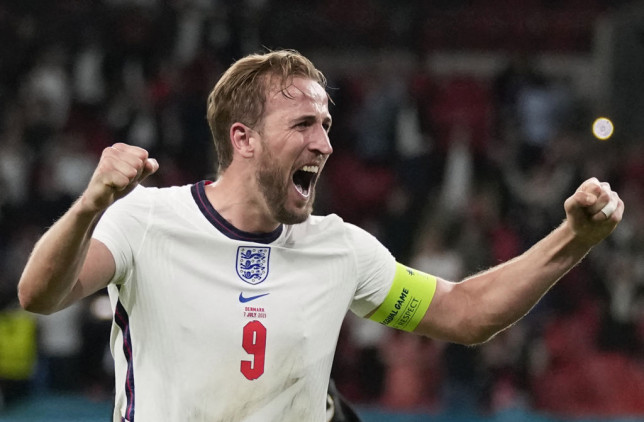 England captain Harry Kane has hit form at Euro 2020 at the right time