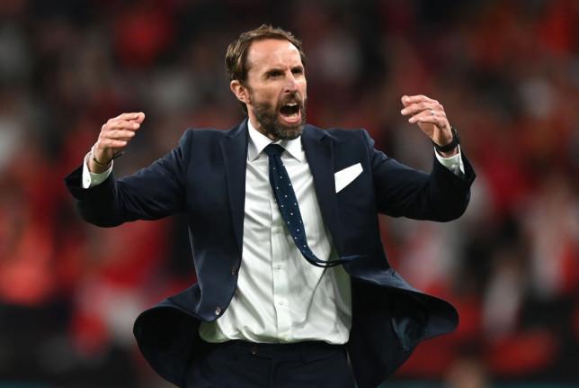 Southgate's side go up against Italy on Sunday