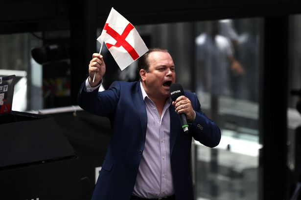 Shaun Williamson at BOXPARK in Croydon as they watch the UEFA Euro 2020 Group D match between England and Croatia held at Wembley Stadium.