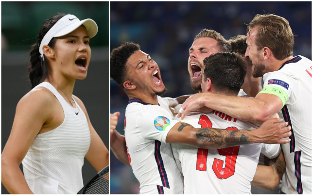 Emma Raducanu is backing England to go all the way at Euro 2020