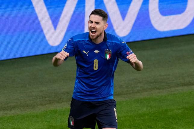 Jorginho scored the winning penalty for Italy in their semi-final win over Spain