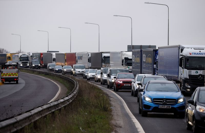 Exclusive-Dover warns of Brexit trade disruption as tourists hit Europe