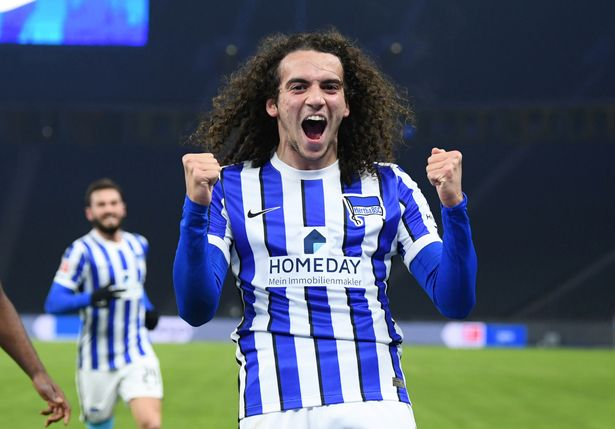 Matteo Guendouzi has been linked with a move after spending the season on loan at Hertha Berlin