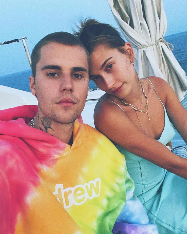 Hailey Bieber has slammed suggestions that Justin screamed at her
