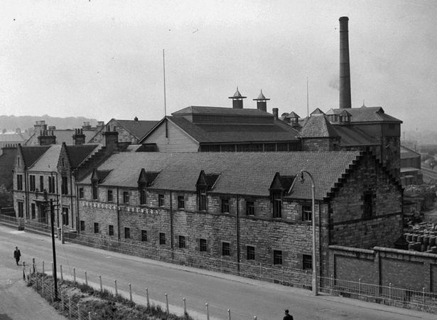 The former Drybrough Brewery operated at the location from 1895 until 1987