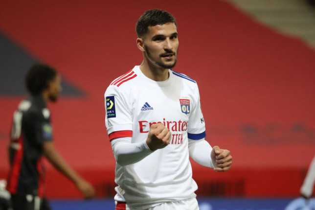 Arsenal failed with a bid to sign Houssem Aouar last summer