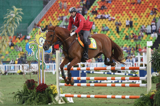 Modern Pentathlon - Riding: Show Jumping - Olympics: Day 15