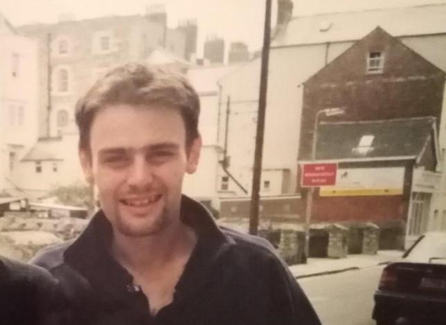 Karl Finn as a young man