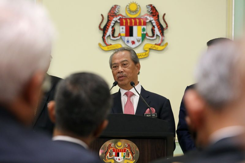 Key party in Malaysia alliance withdraws support for PM Muhyiddin