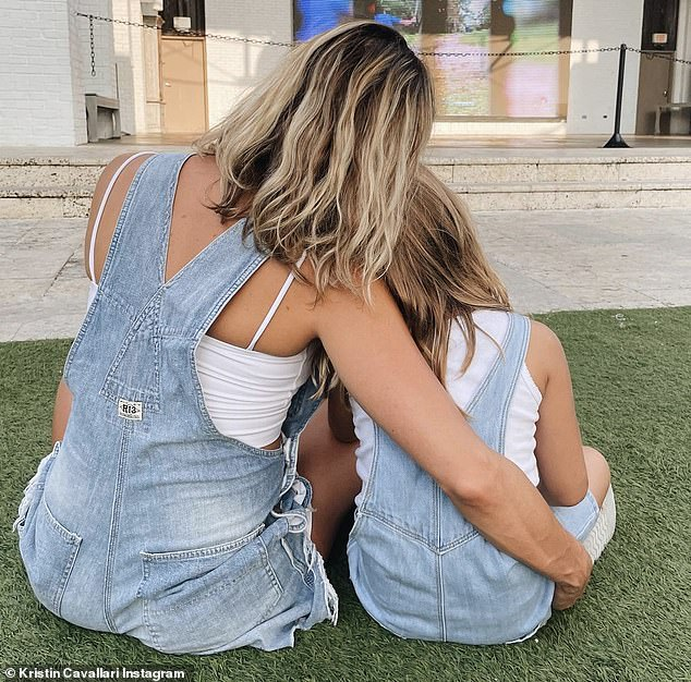 Like mother, like daughter: Kristin Cavallari was seen twinning with her mini-me daughter Saylor James in a heartwarming snap that was shared to her Instagram account on Sunday