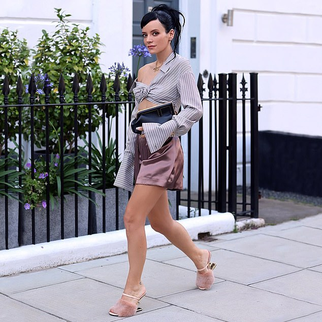 Lily Allen has been hired by Fendi's artistic director Kim Jones and was also paid a five-figure fee by Dior to post pictures of its products on social media
