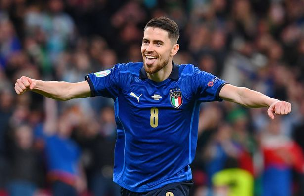 Jorginho converted the winning penalty as Italy edged out Spain to reach the final