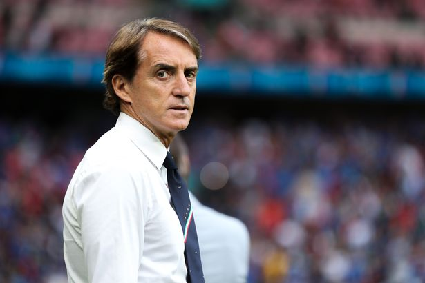 Roberto Mancini will lead Italy out in a final at Wembley eight years on from his FA Cup nightmare