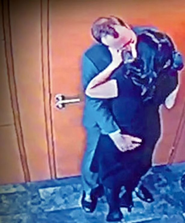Matt Hancock pictured kissing his aide Gina Coladangelo (The Sun)