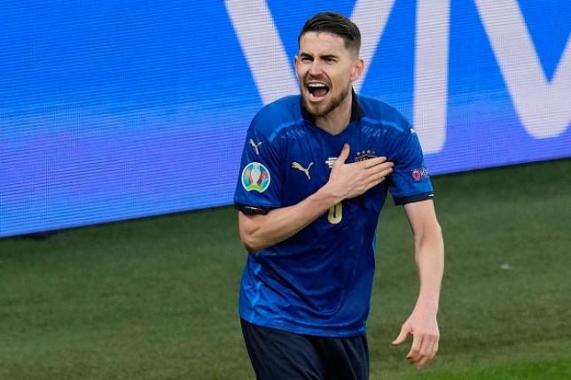 Jorginho scored the decisive penalty in Italy's Euro 2020 shootout win over Spain