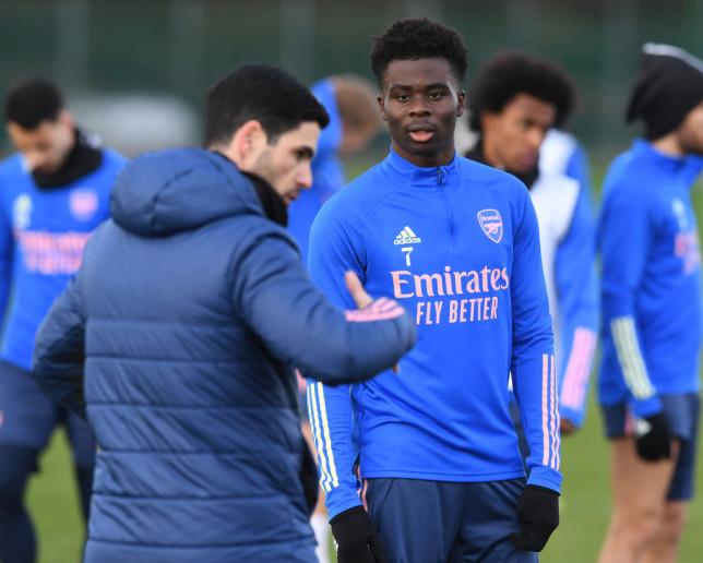 Bukayo Saka wanted the opinion of Bukayo Saka before pressing ahead with plans to sign Ben White