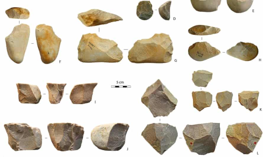 Discoveries from the Thomas Quarry I site outside Casablanca.
