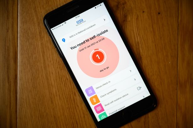 The app could ping millions into isolation