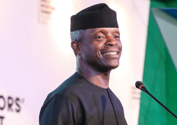 Yemi Osinbajo says the Buhari administration will continue to focus on job creation.