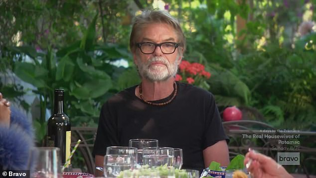 Italian lunch:Harry Hamlin shared his concern about daughter Amelia dating much older Scott Disick on Wednesday's episode of The Real Housewives Of Beverly Hills