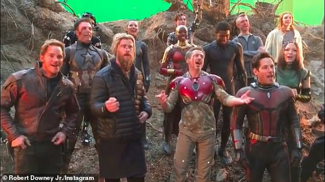 Over it? Two-time Oscar nominee Robert Downey Jr. (M) freaked out his fans after recently unfollowing his many Marvel Cinematic Universe castmates and filmmakers on Instagram (pictured in 2018)
