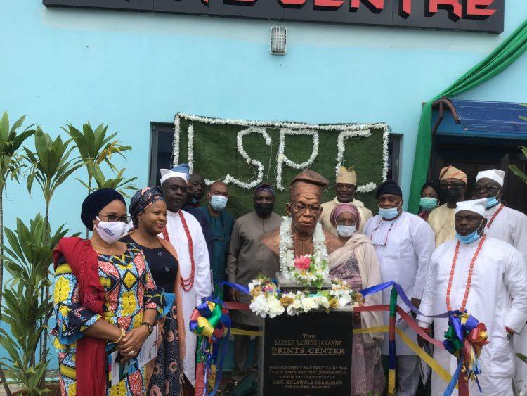 Sanwo-Olu names Printing Corporation Press Hall after Jakande