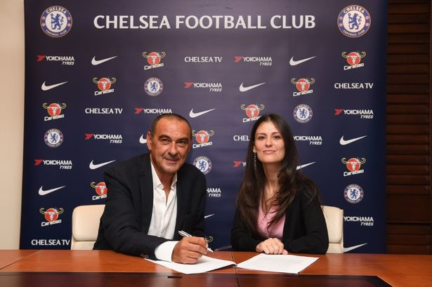 "Sarri claims he made a ""sensational"" error by leaving Chelsea despite Granovskaia's pleas"