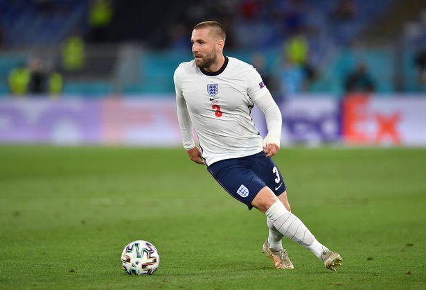 Luke Shaw created two England goals against Ukraine