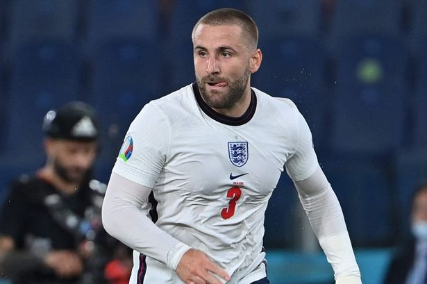 Shaw swung in the corner for Harry Maguire to nod in before teeing-up Harry Kane four minutes later