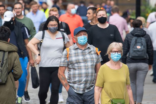 Face masks will no longer be required anywhere other than hospitals and care homes